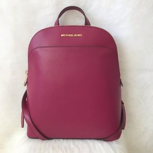 New! MICHAEL KORS EMMY LARGE DOME BACKPACK